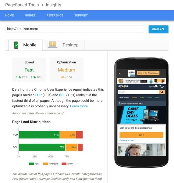 mobile page speed for seo