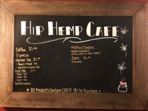 Hip Hemp Cafe - Menu