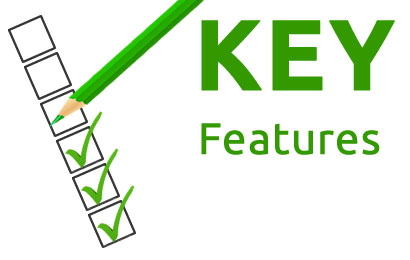 key features - SEO and keyword tracking