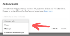 Google My Business - User Permissions
