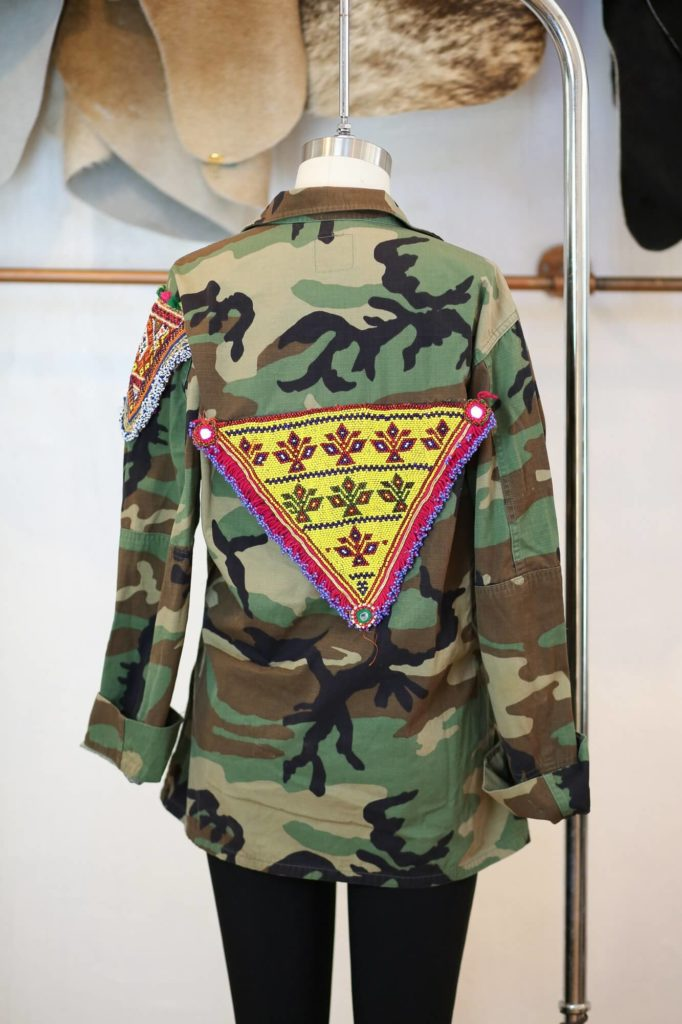 Camo Jacket - Tesoro Design