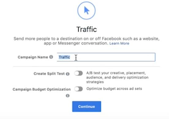 Facebook Traffic Campaign