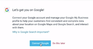 Connecting your Google account