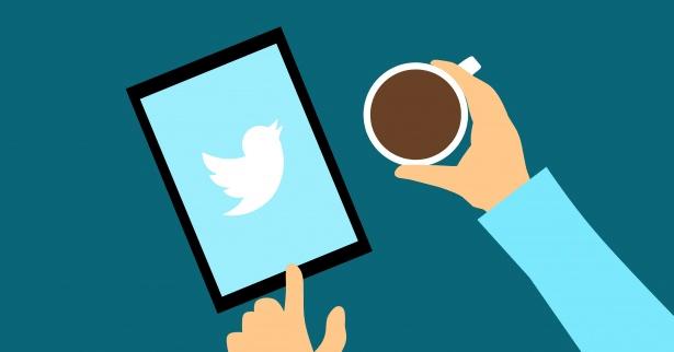 Twitter partnership on tablet