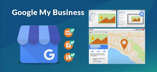 Example of the Google My Business layout and format.