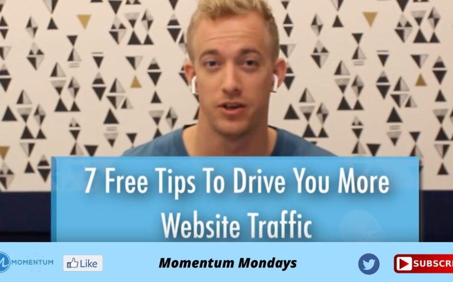 7 FREE Tips to Drive More Website Traffic