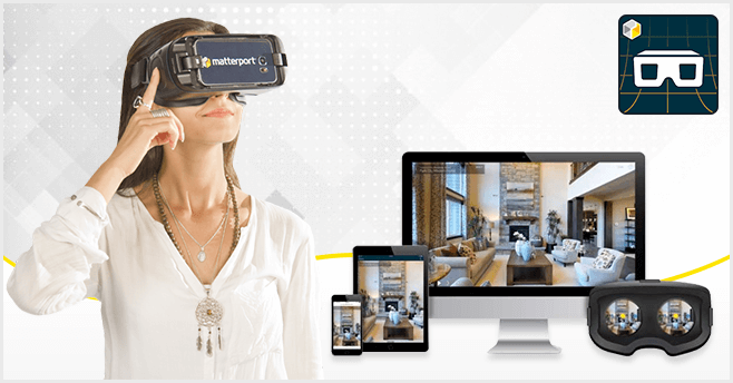 experiencing matterport virtual tours