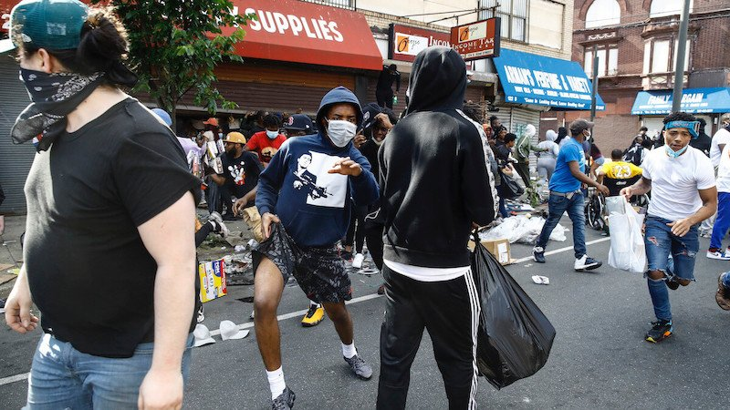 Philly riots and looting