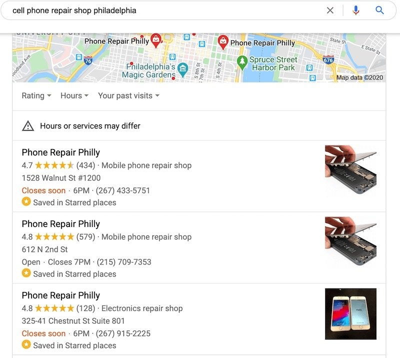 Phone Repair Philly seo