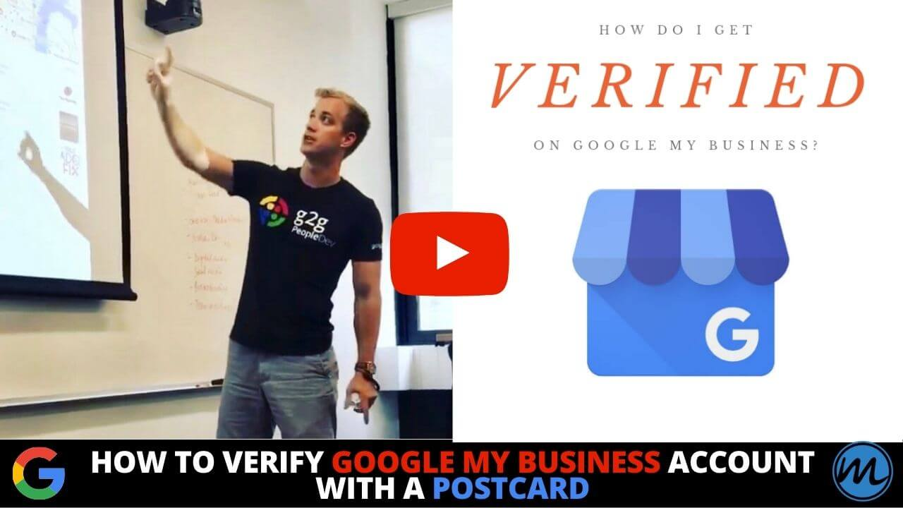 How to Verify Google My Business Account with a Postcard