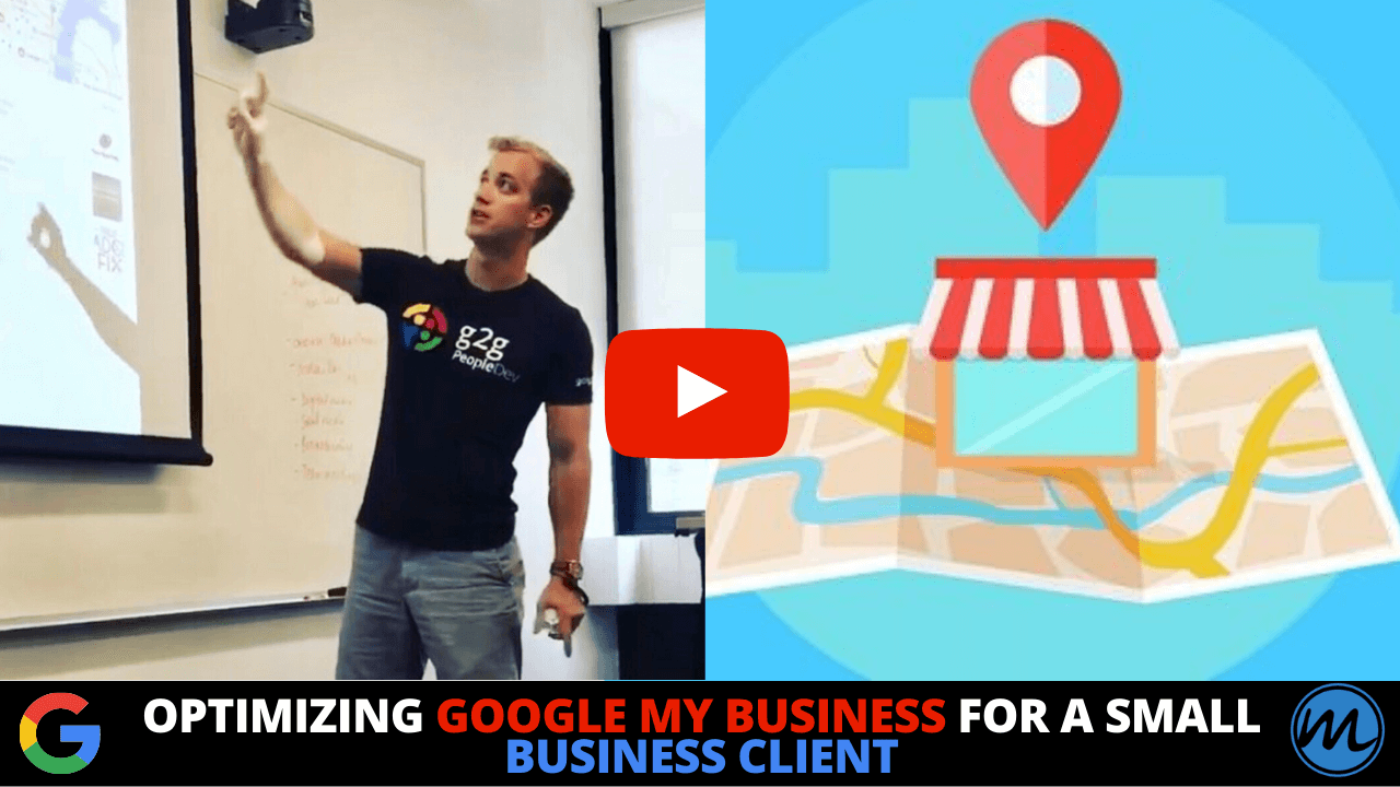 Optimizing Google My Business for a Small Business Client